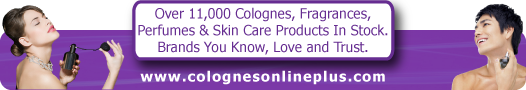 Colognesonlineplus.com Banner